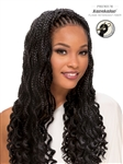 SENSUAL- 2X Box Braid Wavy Goddess 20''