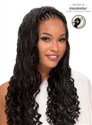 SENSUAL- AFRO SENS 2X BOX BRAID WAVY GODDESS 20""